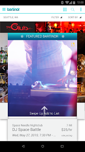 Bartindr- screenshot thumbnail