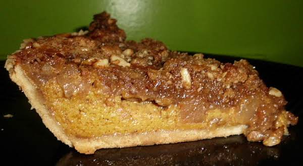 Pumpkin Apple Crumb Pie Recipe
