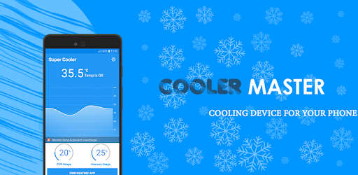 Phone Cooler CPU Cooler Master, Cool Down Phone for PC