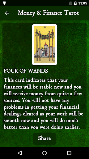 Download Daily Money & Finance Tarot Card Reading 2019 Free