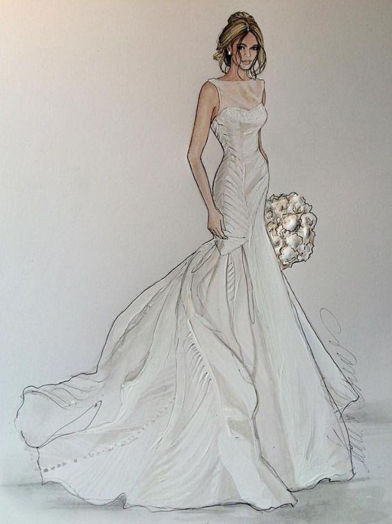 Fashion design sketches android apps on google play for Design your wedding dress app