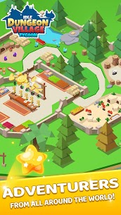 Idle Dungeon Village Tycoon – Adventurer Village  Apk Download For Android and Iphone 6