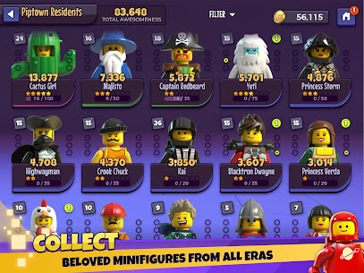 LEGO® Legacy: Heroes Unboxed Mod Apk Download For Android and Iphone 7