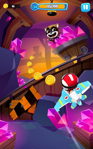 Talking Tom Sky Run: The Fun New Flying Game apktram screenshots 15