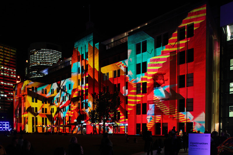 Photo: More of the MCA at Vivid Sydney 2012