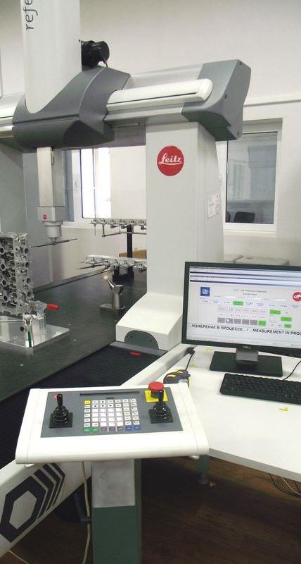 КИМ марки Leitz Reference HP обеспечивает качество агрегатов двигателей на фирме GM Powertrain
