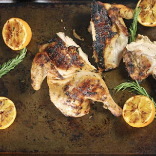 Lemon, Dijon and Rosemary Grilled Chicken