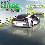 Sky extreme car drift