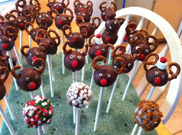 Reindeer Cakepops Recipe