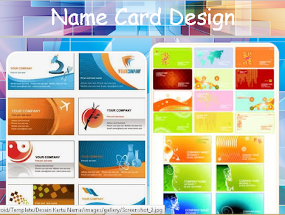 Name Card Design Android Apps on Google Play – Name Card