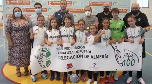 Níjar aplaude a las campeonas de la Supercopa RFAF