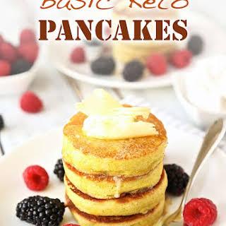 Basic Keto Pancakes.