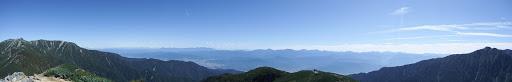 檜尾岳からパノラマ