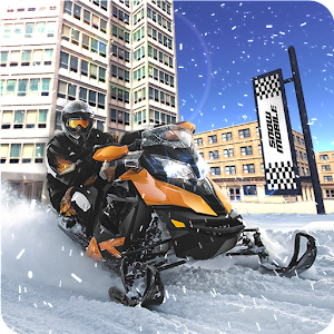 Drive Snowmobile Simulator for PC and MAC