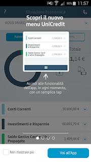 Mobile Banking UniCredit screenshot 02