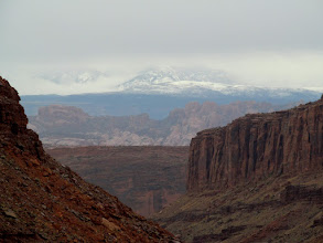 Photo: The La Sals socked in
