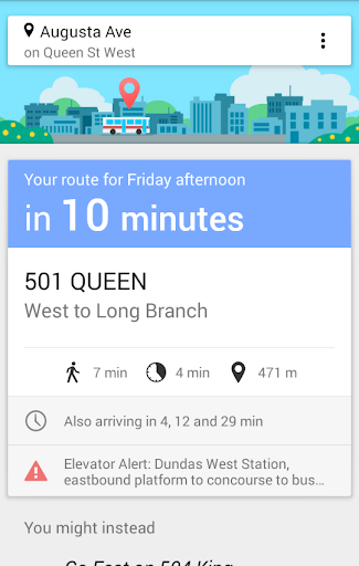 Is It Here Yet: Your TTC Info