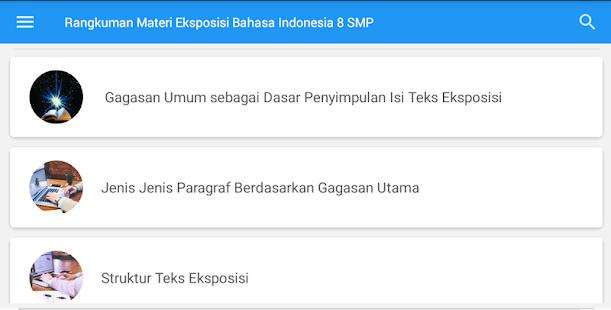 Materi Bab Teks Eksposisi Kelas 8 Smp Mga App Sa Google Play