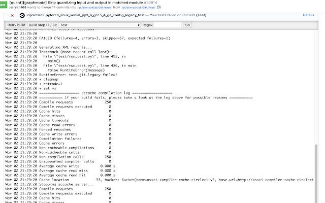 GitHub Inline Log Viewer
