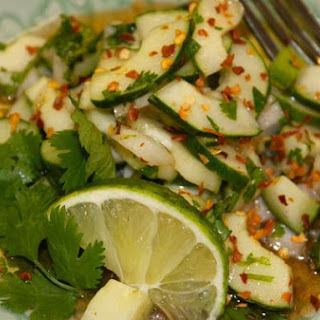 Thai Cucumber Salad (By Roz)