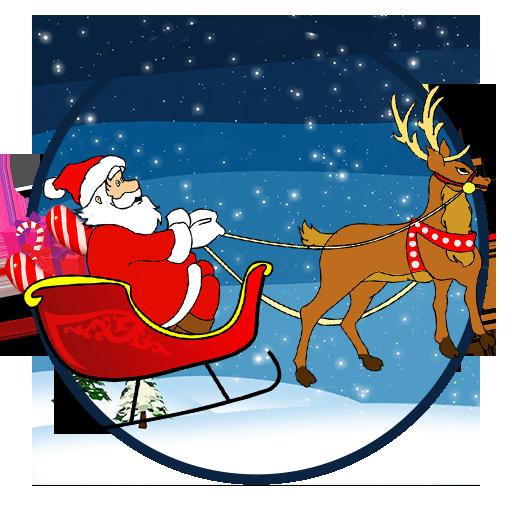 クリスマスゆるいサンタクロース 街機 LOGO-玩APPs