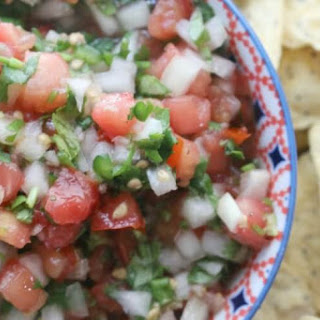 Fresh and Fermented Pico de Gallo or Salsa Fresca
