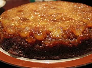 Gingerbread Pineapple Upsidedown Cake