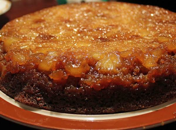 Gingerbread Pineapple Upsidedown Cake Recipe