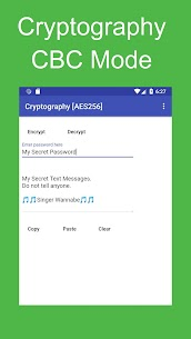 Cryptography Tool [AES256/CBC/PKCS5] 1.19 MOD + APK + DATA Download 2