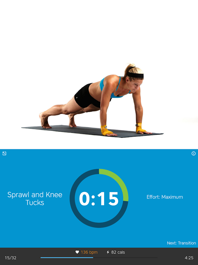 Workout Trainer: fitness coach- screenshot