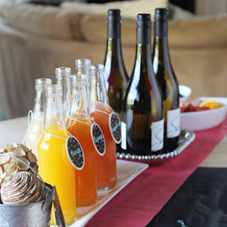 How To Set Up A DIY Mimosa Bar.