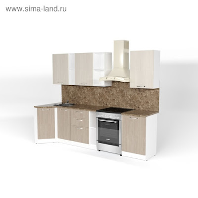 Кухонный гарнитур Ольга прайм 4 900*2000 мм