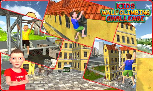Kids Wall Climbing Challenge