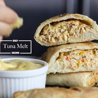 Spicy Tuna Melt Calzone