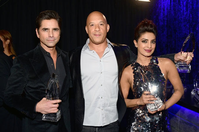 Priyanka Chopra at People's Choice Awards 2016 in L.A