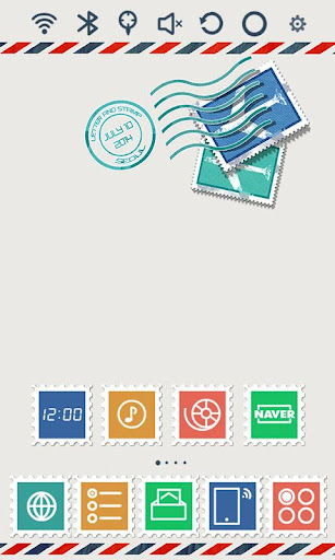 Postage Stamp Launcher Theme