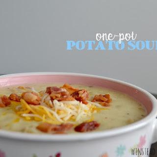 One-Pot Potato Soup.