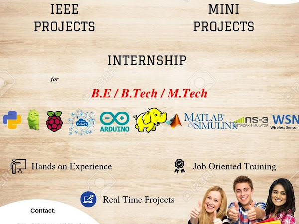 CITL Tech Varsity- IEEE projects BE,Mtech,Internship in Bangalore
