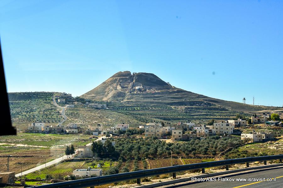 Иродион – гора-крепость. Экскурсия в Иродион.