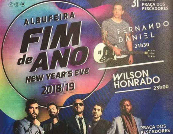 Réveillon 2018-2019 em Albufeira