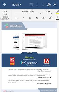 OfficeSuite + PDF Editor- screenshot thumbnail