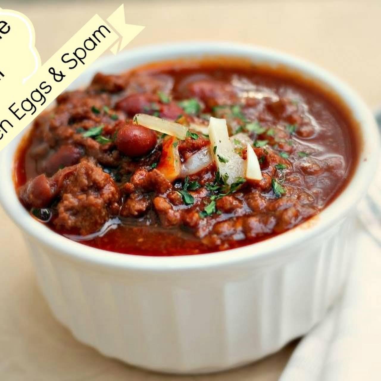 Soul Warming Homemade Chili