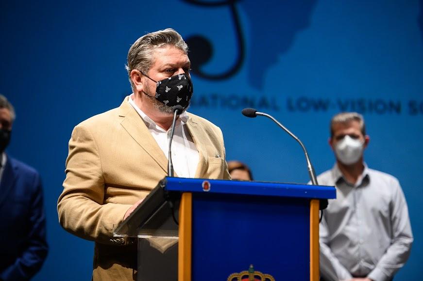 El concejal de Cultura, Diego Cruz.