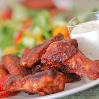 Chipotle Strawberry Chicken Wings