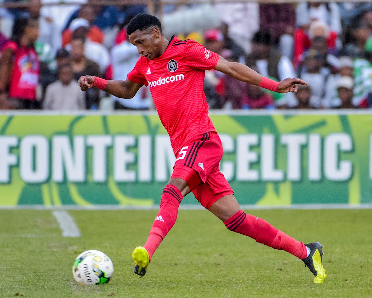 In-form Orlando Pirates and Bafana Bafana midfielder Vincent Pule in action during the Absa Premiership match against Bloemfontein Celtic at Toyota Free State Stadium in Bloemfontein on August 19 2018.