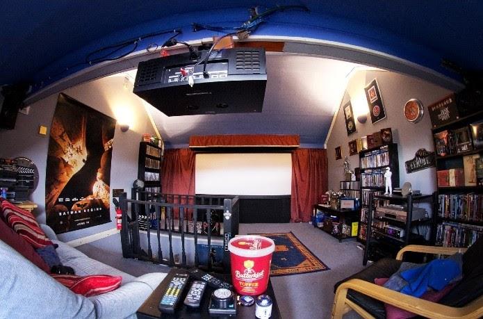proyector de cine en casa