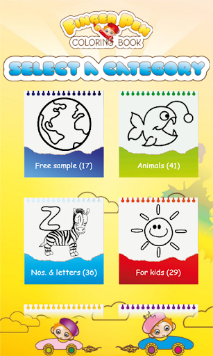 FingerPen 500+ coloring books for toddlers cheat hacks