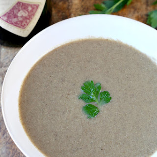 Homemade Mushroom Soup Recipe (Cream-Free)