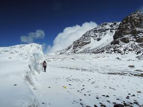 Photo: GPS survey of the Furtwangler Glacier