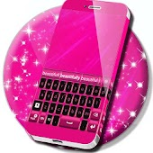 Keyboard Theme Pink